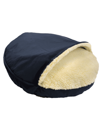 Snoozer Cozy Cave Small - Navy