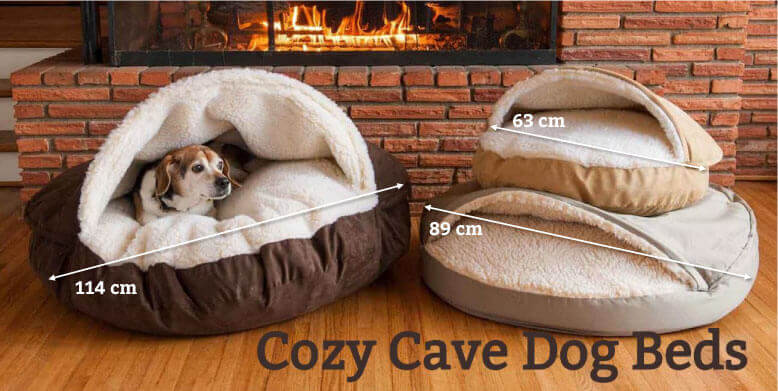 Cozy Cave Dog Beds Matenwijzer