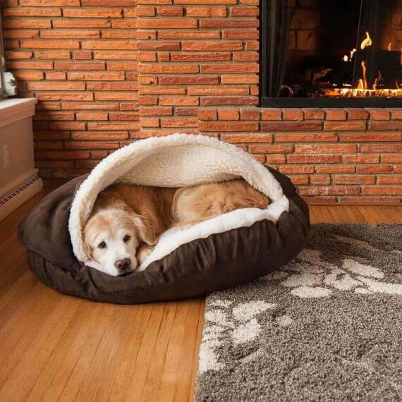 Snoozer Cozy Cave Large Luxury Dog Bed