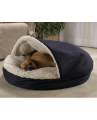 Snoozer Cozy Cave Small Navy