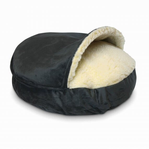 Cozy Cave Large - Anthracite - Luxury Microsuède - 89 cm