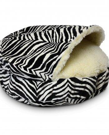 Cozy Cave Small Zebra (Luxury Microsuède) 63 cm
