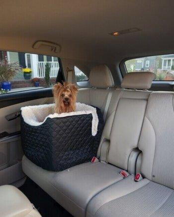 Snoozer Lookout I Pet Car Seat - Black - Small (tot 8 kg)