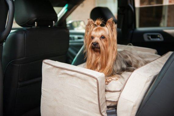 Snoozer Lookout I Pet Car Seat - Anthracite - 2 maten