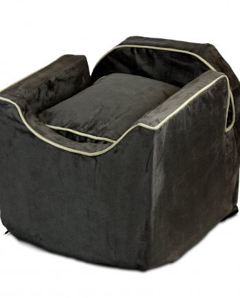Snoozer Lookout II Pet Car Seat - Dark Chocolate - 3 maten - met lade