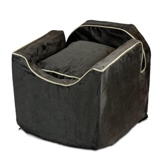 Snoozer Lookout II Pet Car Seat - Dark Chocolate - 3 maten - met lade