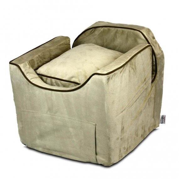 Snoozer Lookout II Pet Car Seat - Buckskin - 3 maten - met lade