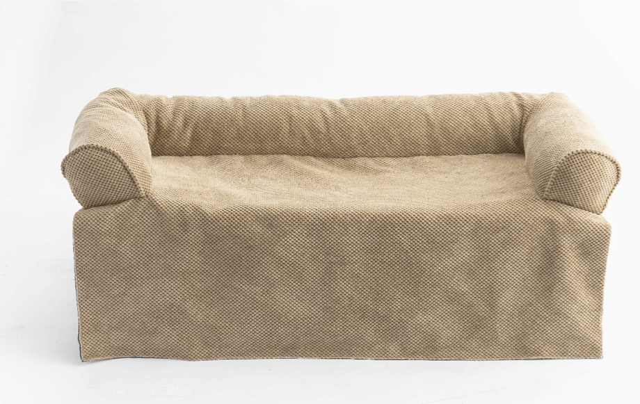 Snoozer Bolstered Sofa Throw – Hondenbed voor op de bank – Sand