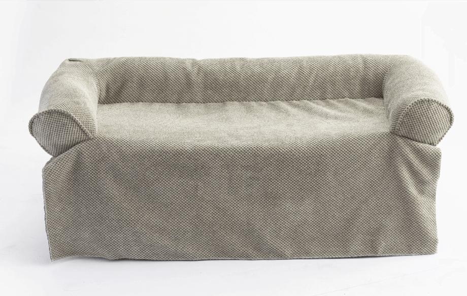 Snoozer Bolstered Sofa Throw – Hondenbed voor op de bank – Storm