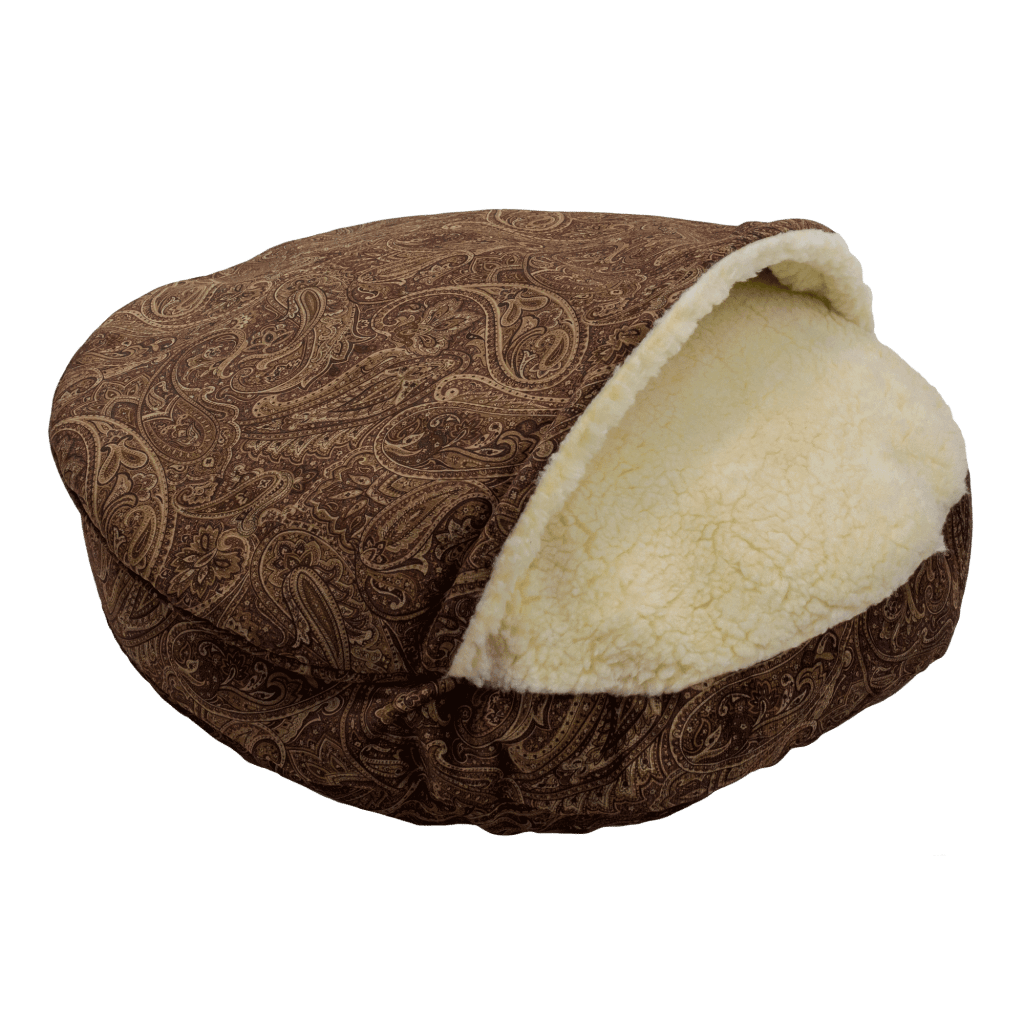 Snoozer Cozy Cave XL - Luxury microsuede - Laurel Cayenne (114 cm)
