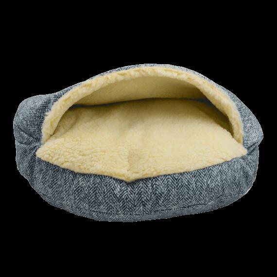 Snoozer Cozy Cave XL - Luxury microsuede - Palmer Indigo (114 cm)