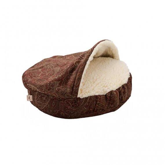 Snoozer Cozy Cave XL - Luxury microsuede - Laurel Cayenne - 114 cm