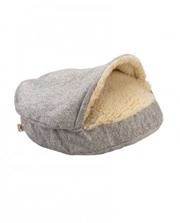 Snoozer Cozy Cave Small - Luxury microsuede - Palmer Dove (63 cm)