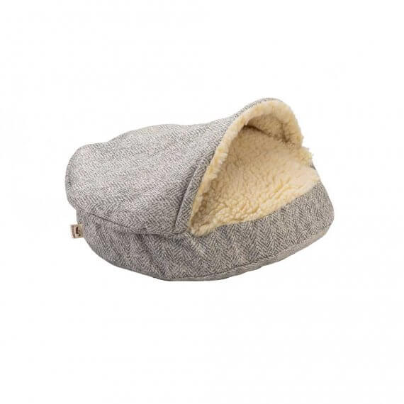Snoozer Cozy Cave Small - Luxury microsuede - Palmer Dove - 63 cm