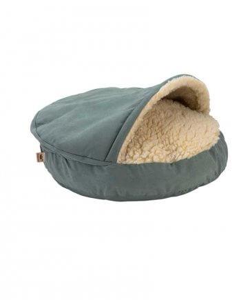 Cozy Cave Large - Luxury Microsuede - Aqua - 89 cm