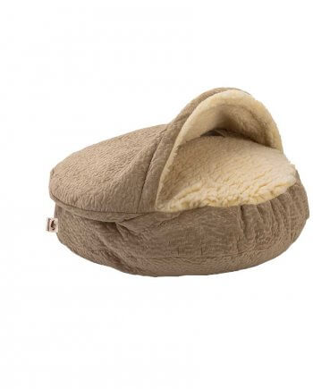 Luxury Snoozer Cozy Cave Small - Piston Sand (63 cm)