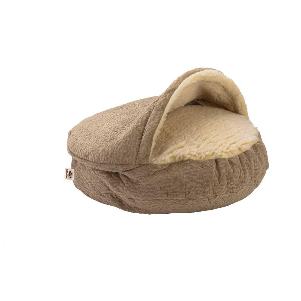 Luxury Snoozer Cozy Cave Small - Piston Sand (63 cm)