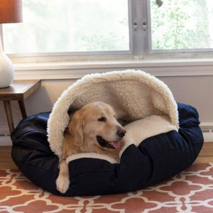 Cozy Cave Dog Bed - Poly Cotton