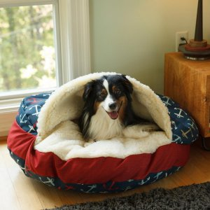 Luxery Cozy Cave dog bed WAG collection